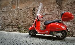 Vespa scooter Stock Images