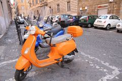 Vespa scooter Royalty Free Stock Photos