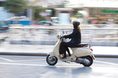 Vespa Scooter Stock Photography