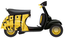 Vespa scooters 50 years Royalty Free Stock Images