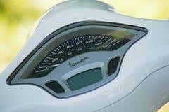 Vespa speedometer Royalty Free Stock Photography