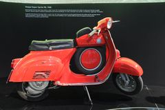 Vespa Super Sprint 90 - 1966 Royalty-vrije Stock Fotografie