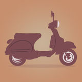 Vespa Vintage vector Royalty Free Stock Photography