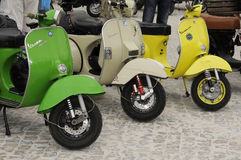 Vespa World Days Stock Photo