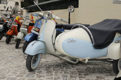 Vespa World Days Stock Photography