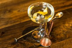Vesper Martini 007 Stockbild