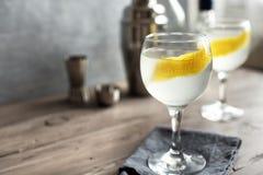Vesper Martini Cocktail stock image