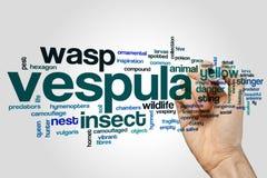 Vespula word cloud Stock Image