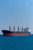 Vessel at Alicante. Vessel in Alicante anchorage bay Stock Images
