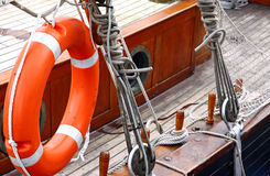 Vessel deck Stock Photography