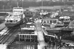 Dry dock Stock Photo