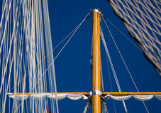 Vessel mast close-up Stock Image