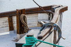 Vessel part Royalty Free Stock Photography
