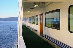 Vessel promenade Royalty Free Stock Image
