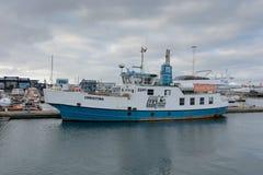 Vessel in Reykjavik Stock Photography