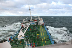 Vessel under way Stock Photography