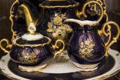 Vessels of beautiful tableware Royalty Free Stock Photography