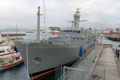 Vessels in Reykjavik, near Maritime Museum Stock Photography