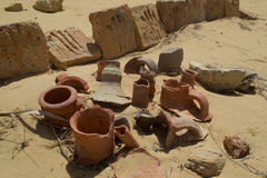 Vessels. Used by Egypcian Civilization Royalty Free Stock Images