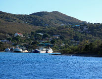 Vessup Bay in St Thomas Royalty Free Stock Photo
