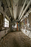 Vestíbulo abandonado Fotografía de archivo