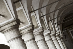 Vestíbulo arqueado fotografía de archivo libre de regalías