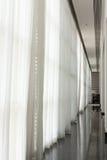 Vestíbulo blanco y negro Foto de archivo libre de regalías