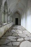 Vestíbulo Columned en la abadía de Muckross cerca de Killarney Fotos de archivo libres de regalías