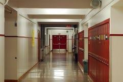 Vestíbulo de Highschool Imagen de archivo libre de regalías