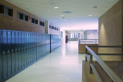 Vestíbulo de la escuela Foto de archivo libre de regalías