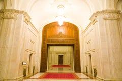 Vestíbulo de mármol de lujo Imagen de archivo libre de regalías