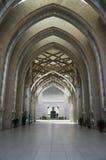 Vestíbulo de Sultan Mizan Mosque Fotos de archivo