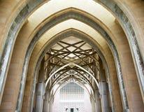 Vestíbulo de una mezquita Imagen de archivo libre de regalías