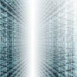 Vestíbulo de vidro Imagem de Stock