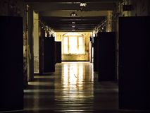 Vestíbulo del asilo Imagen de archivo