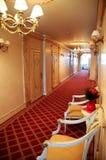 Vestíbulo del hotel Imagenes de archivo