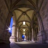 Vestíbulo del teatro de la ópera del estado, Viena, Austria Fotos de archivo libres de regalías