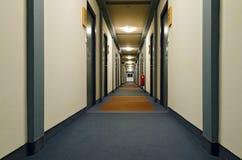 Vestíbulo en un hotel Foto de archivo libre de regalías