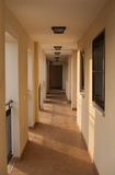 Vestíbulo español del apartamento Imagenes de archivo