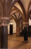 Vestíbulo gótico del estilo Fotografía de archivo