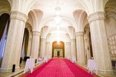 Vestíbulo interior de lujo Fotos de archivo