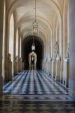 Vestíbulo interior en el palacio de Versalles Imagen de archivo libre de regalías