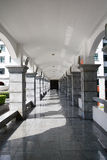 Vestíbulo moderno del edificio Fotografía de archivo libre de regalías