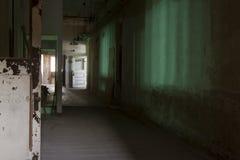 Vestíbulo verde Imagen de archivo libre de regalías