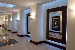 Vestíbulo y pasillo Fotografía de archivo libre de regalías