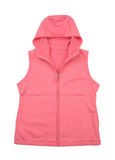Vest. There is a vest on the white background stock photography