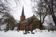 Vestby Kirche Lizenzfreie Stockfotografie
