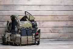 Veste à prova de balas do exército Imagens de Stock Royalty Free