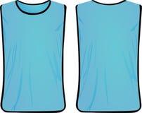 Veste azul da segurança Foto de Stock