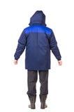 A veste azul para trás vê Foto de Stock